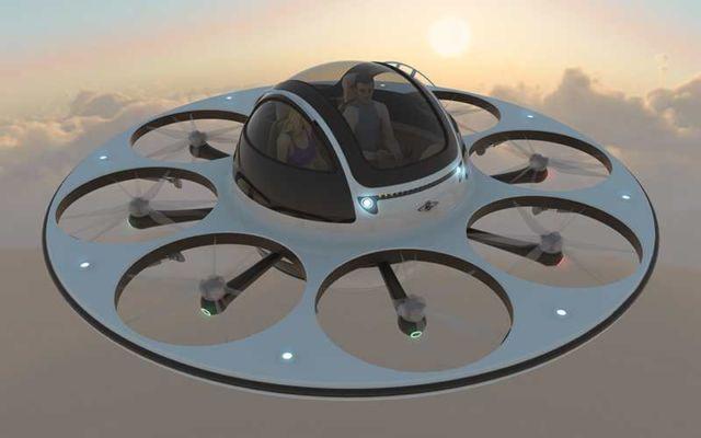 Tecnologia: arriva Ifo, il drone biposto che va a 200 km/h