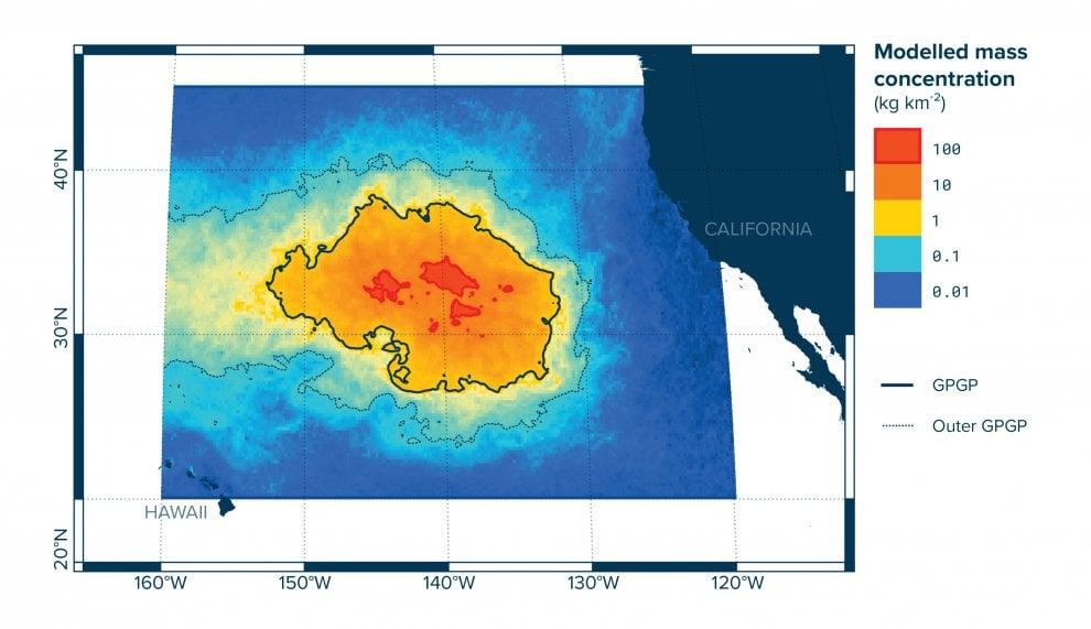 Pacifico: l'isola di plastica e' 16 volte piu' grande del previsto e continua a crescere