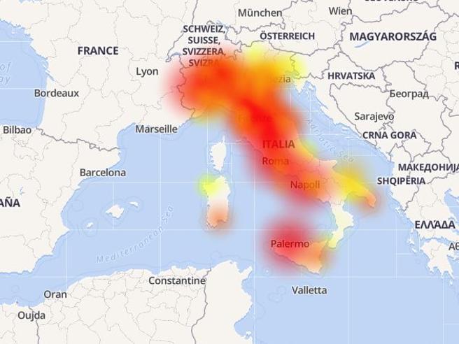 Vodafone: gravi problemi in tutta Italia alla rete internet e cellulari da oggi pomeriggio
