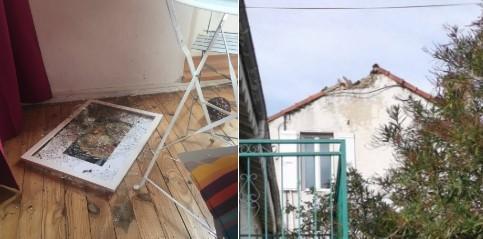 Forte terremoto in Francia: crepe e qualche crollo, ci sono dei feriti