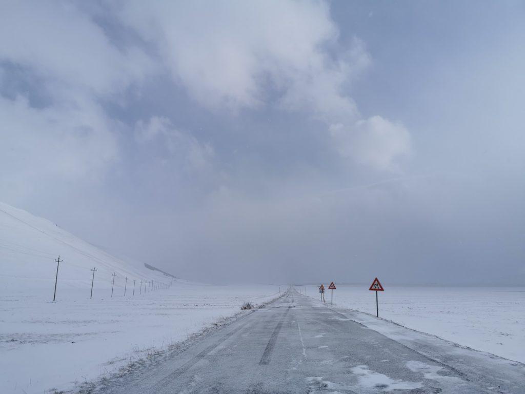 Nevica a bassa quota in Romagna, forti nevicate su quasi tutto l'Appennino
