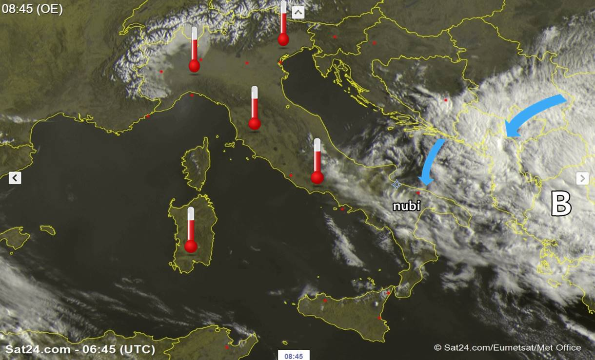 Domenica delle Palme stabile e mite: qualche nube al sud