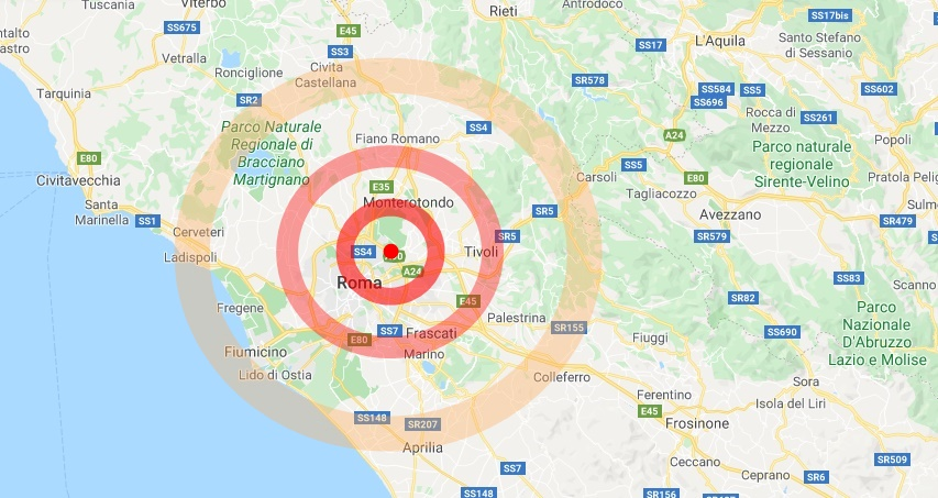 Roma, scossa di terremoto nella notte spaventa la Capitale, non ci sono danni