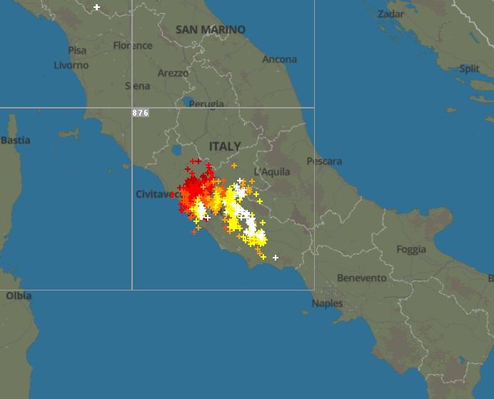 Maltempo nel Lazio: serie di trombe d'aria lungo la costa