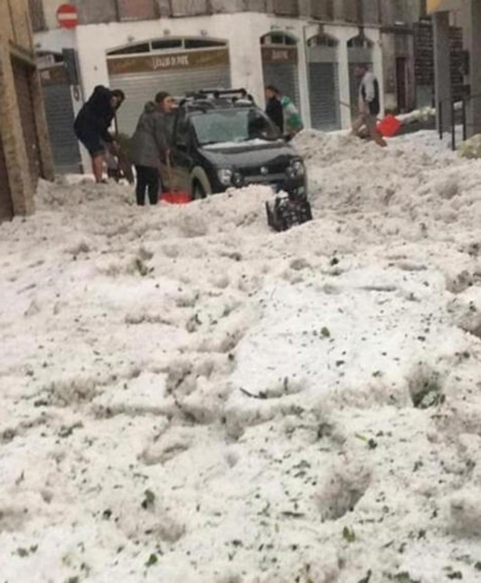 Devastanti grandinate colpiscono la Lombardia, Bergamasca in ginocchio