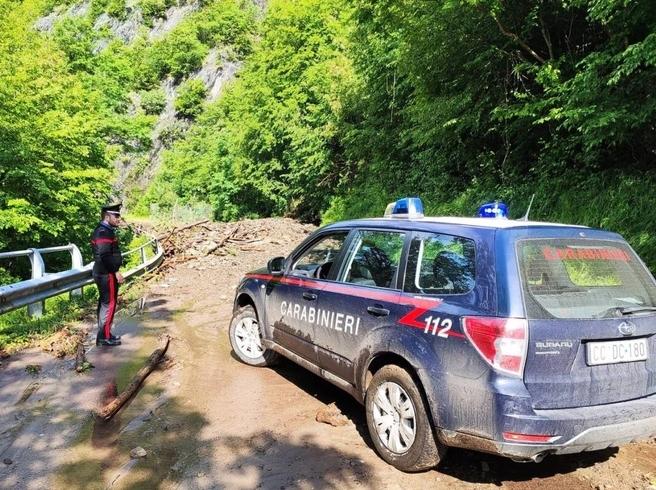 Pesante maltempo nella notte in Emilia: frane e fango nel bolognese