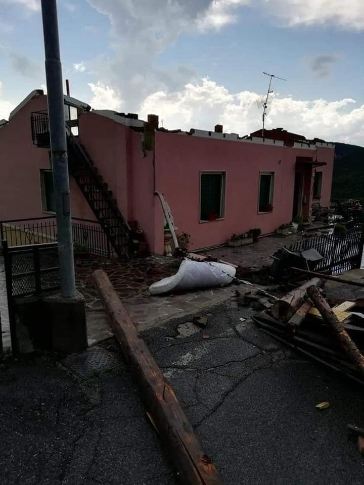 Violento maltempo si abbatte sul bresciano: gravi danni per il nubifragio