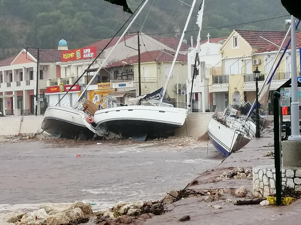 Ciclone tropicale impatta la Grecia: pesanti danni a Cefalonia e Zante
