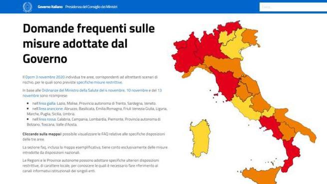 Misure anti-covid: ecco le regioni candidate a passare in zona arancione a breve