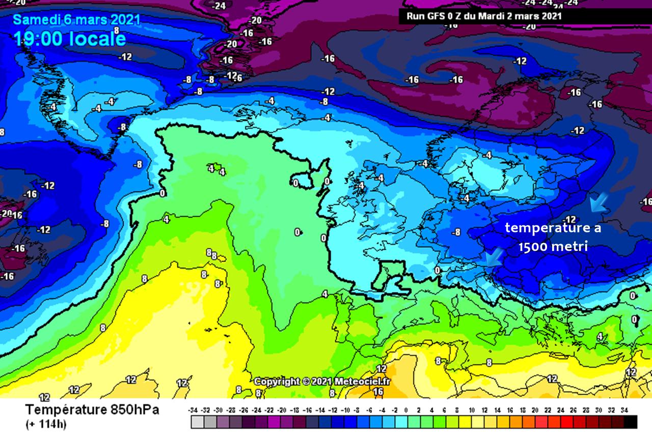 Previsioni meteo: alta pressione al capolinea, tornano freddo e fiocchi di neve nel week-end?