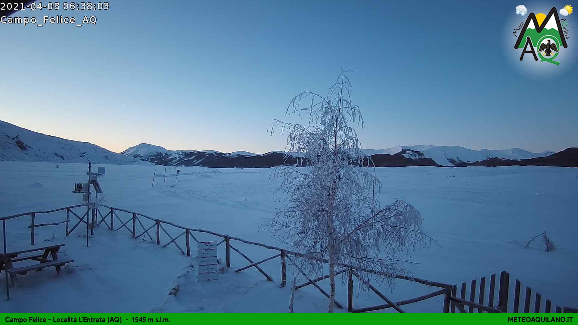 Forti gelate sul centro-nord e campagne congelate. Toccati -22.5°C in Abruzzo