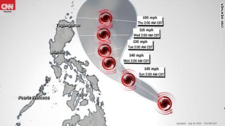 Al via la stagione dei tifoni: ciclone tropicale Surigae colpirà le Filippine