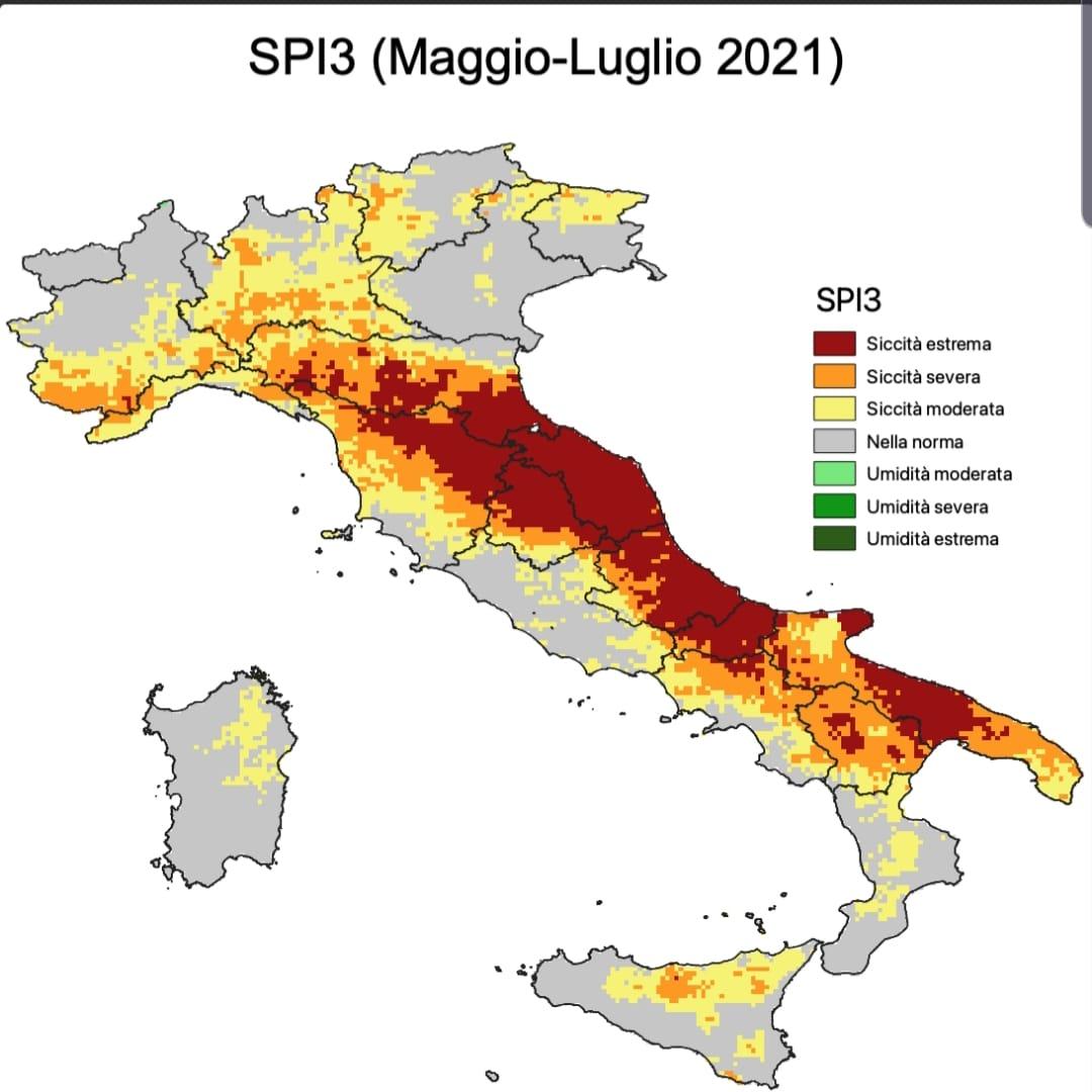 Siccità estrema in Italia: pioggia latitante da mesi in molte regioni