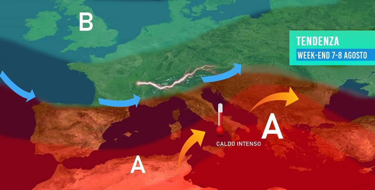 Meteo: tregua troppo breve, da domenica nuova ondata di caldo, ecco su quali regioni