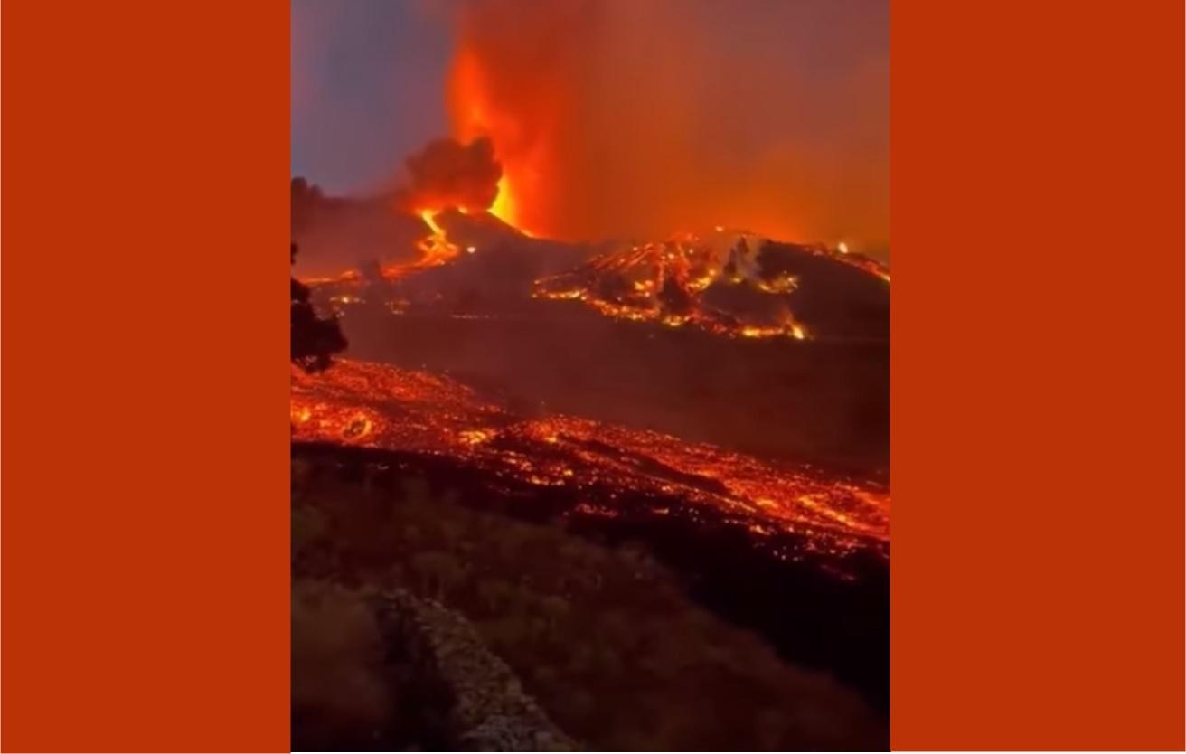 Las Palmas, continua l'eruzione vulcanica alle Canarie: la lava ha raggiunto alcune case