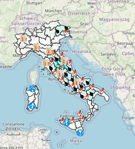 Meteo Protezione Civile domani 27 Settembre: instabile soprattutto al centro-sud