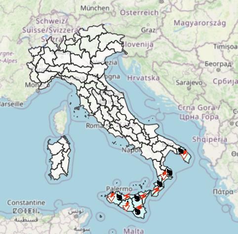 Meteo Protezione Civile domani 18 Ottobre: qualche pioggia fra Sicilia e Calabria, buono altrove