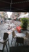 Il bombardamento di grandine nel parmense: foto impressionante dalla zona di Fidenza