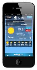 MeteoLive sbarca su cellulari e smartphone: on-line il nuovo sito mobile e le splendide app per iPhone, iPad e  ANDROID!
