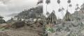 Caraibi: il vulcano Soufrière provoca estrema pioggia di cenere, danni ingenti