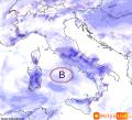 METEO: vortice depressionario in azione al centro e al sud, riflessi anche al nord