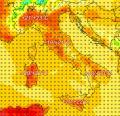 Un'Italia divisa in due, con prospettive di CALDO sud, tempo INSTABILE al nord