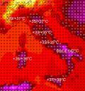 METEO A 7 GIORNI: centro e sud Italia ancora con GRANDE CALDO, tempo più incerto al nord