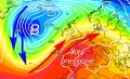 Rinforzo dell'alta pressione tra lunedì e martedì ma avrà vita breve
