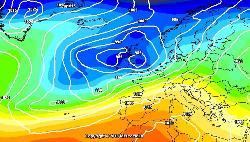 Ritorno dell'alta pressione ad inizio prossima settimana! - Previsione del modello GFS<br><br><span>Restate sintonizzati su</span><span style=