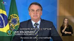 """Brasile, pesanti parole di Bolsonaro: """"è una follia per un raffreddore, torneremo alla normalità"""""""