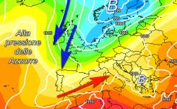 MODELLO EUROPEO: una lunga deriva di tempo instabile