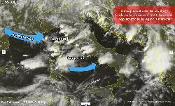 Meteo: tra schiarite e temporali, rischio nubifragi e grandine