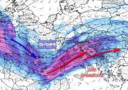 METEO A 7 GIORNI: ancora tempo instabile al nord, soleggiato al sud