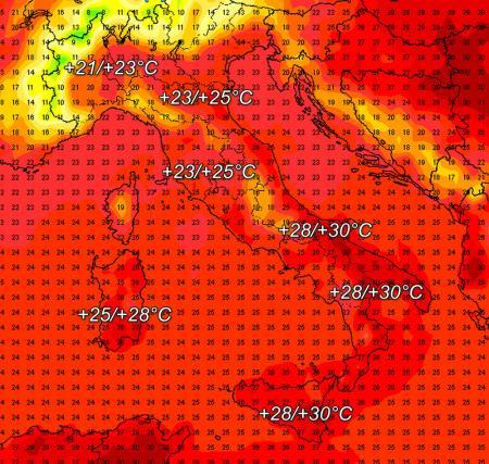 Allarme temporali forti sul Polesine. L'allerta parte da domani mattina
